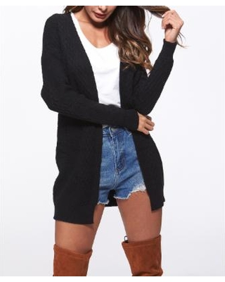 black cardigan women