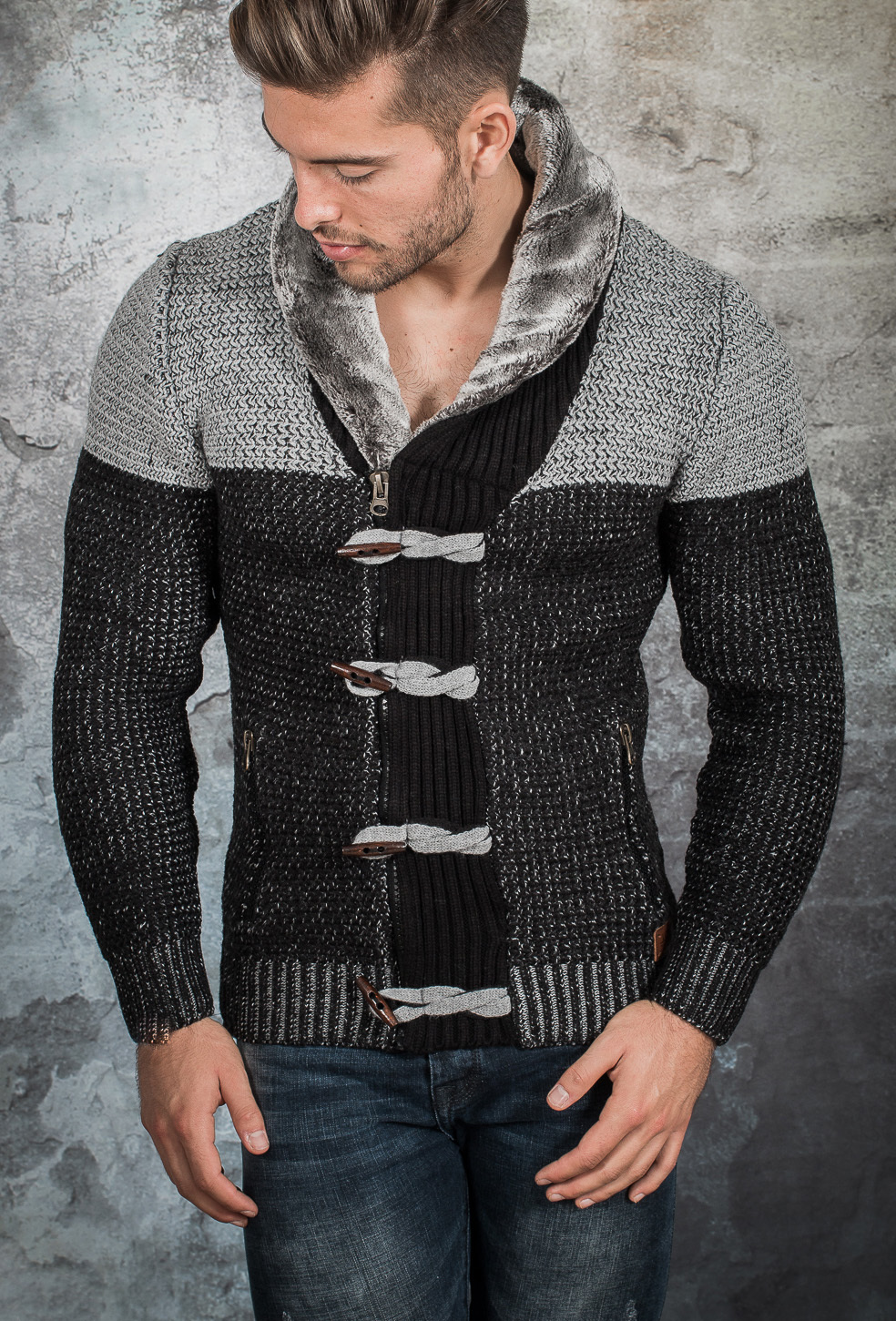 cardigan homme