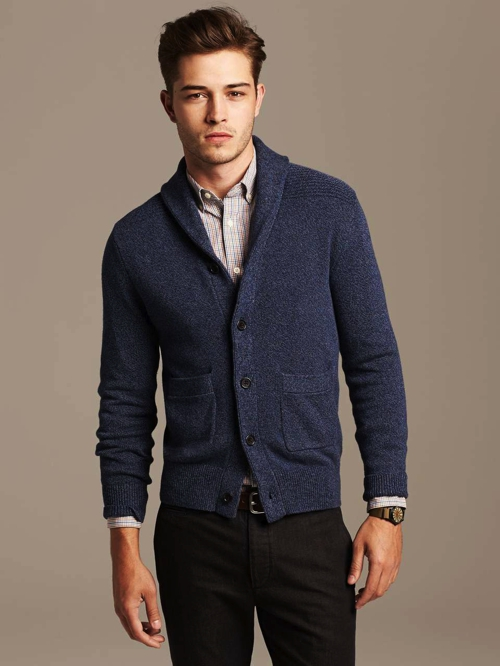 mens cardigan outfits