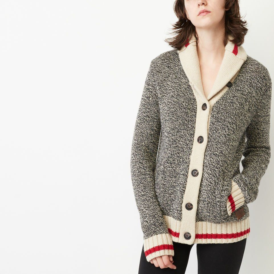 roots cabin cardigan