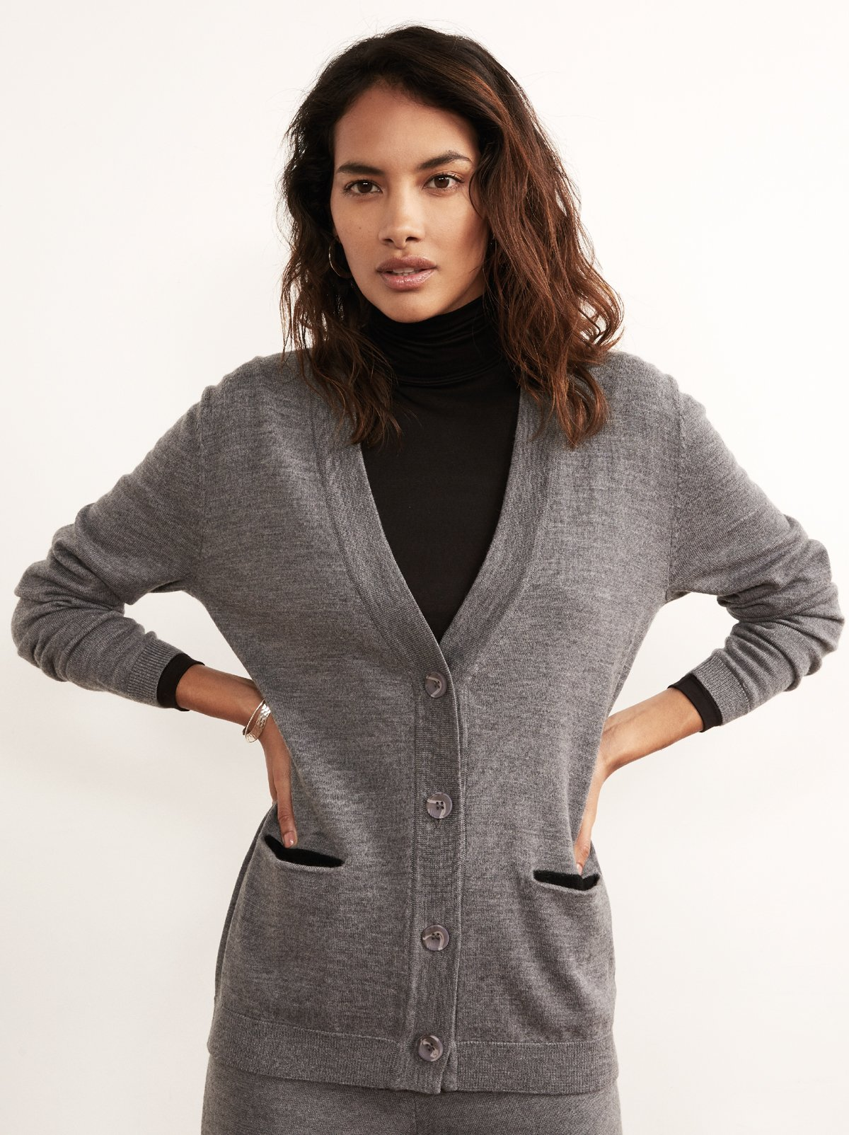 wool cardigan womens